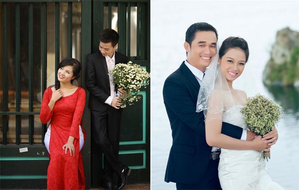 Hai trong số 13 bộ ảnh được chọn là album ảnh cưới ấn tượng của tháng 11 và 12.
