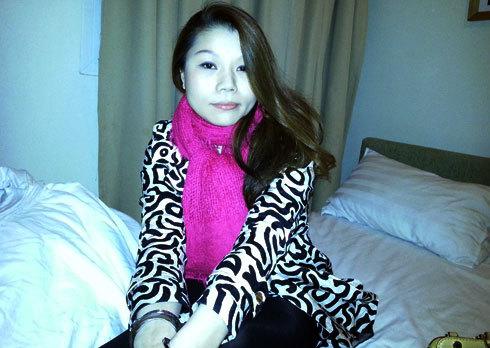 Má mì Trương Thị Như Quỳnh bị bắt tại khách sạn.