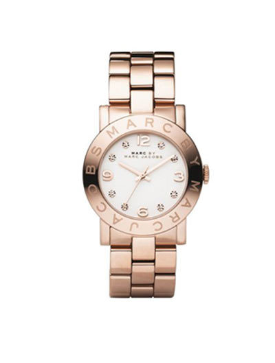 Mã SP 268241 New Marc by Marc Jacobs Amy Rose Gold Stainless Steel Ladies Watch. Giá: 7,63 triệu đồng.