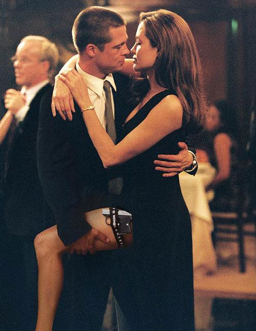Cảnh khiêu vũ của Angelina Jolie và Brad Pitt