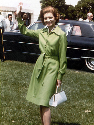 Đệ nhất phu nhân Betty Ford.