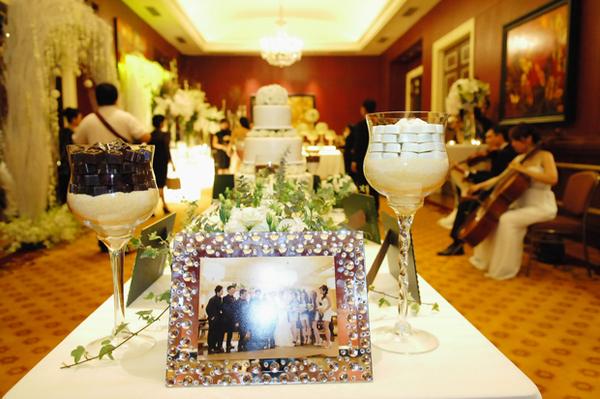 Tiệc cưới lộng lẫy của Minh Tuyết ở TP HCM