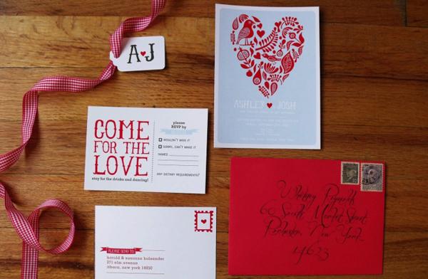 Phụ kiện trái tim ngọt ngào cho đám cưới