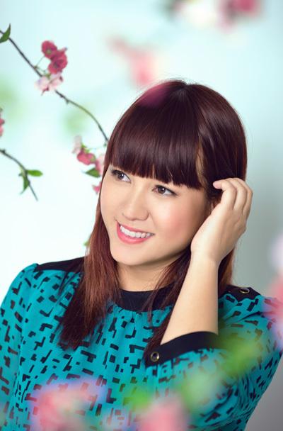Ca sĩ Ngọc Linh.