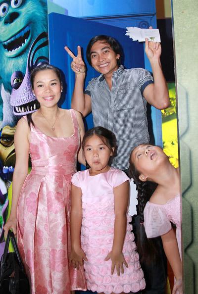 Khương Ngọc cũng được hai cô công chúa Misa và Misu rất quý mến.