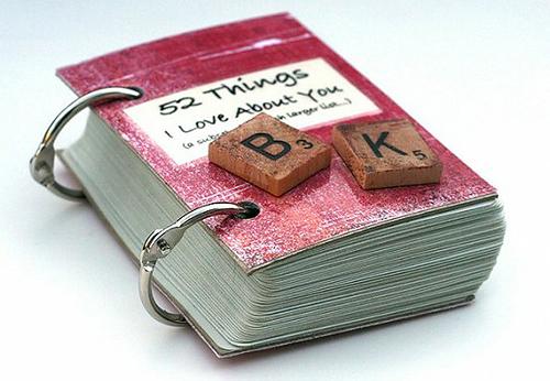 Cuốn sách với những lời nhắn nhủ mùi mẫn.