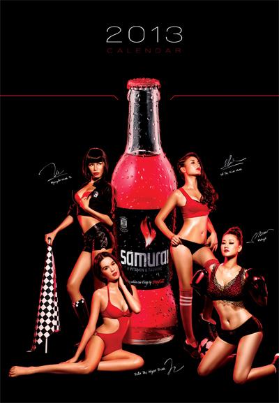 bộ ảnh lịch 2013 này món quà đặc biệt mà Samurai gửi đến khách hàng trong chương trình làm lịch thường niên của mình.