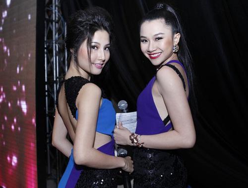 Diễn viên Diễm My 9X và Hoa hậu Thảo Nhi đảm nhận vai trò dẫn chương trình.