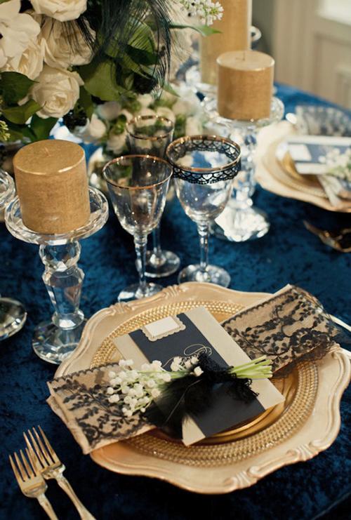 Bàn tiệc đám cưới đẹp tới từng chi tiết