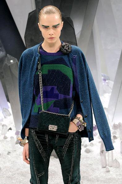 Áo trong bộ sưu tập của Chanel.