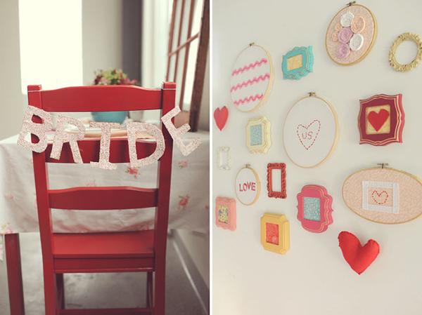 Với không gian tiệc, cô dâu chú rể sử dụng nhiều phụ kiện nhỏ xinh để trao tường trang trí hay làm đẹp cho vị trí ngồi của cô dâu chú rể.