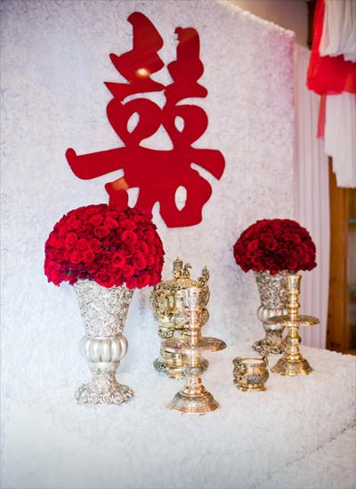 4 sắc màu ấn tượng trang trí nhà ngày cưới