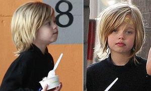 Con gái Shiloh của Jolie-Pitt đã nữ tính hơn