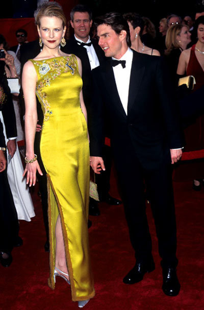 Nicole Kidman The shocking chartreuse Dior creation (designed by John Galliano) Kidman wore in 1997 changed the red carpet fashion game for good.