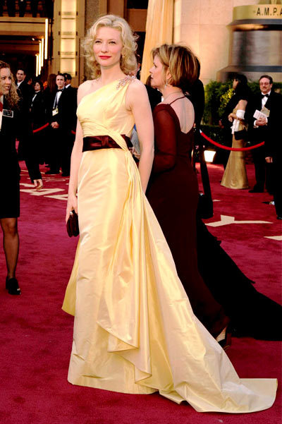 Cate Blanchett, Valentino, 2005  Fashion star Cate took yellow from day to night with this buttercup gown designed especially for her