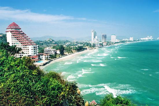 Hua Hin từng là nơi ở của thành viên Hoàng gia Thái Lan.