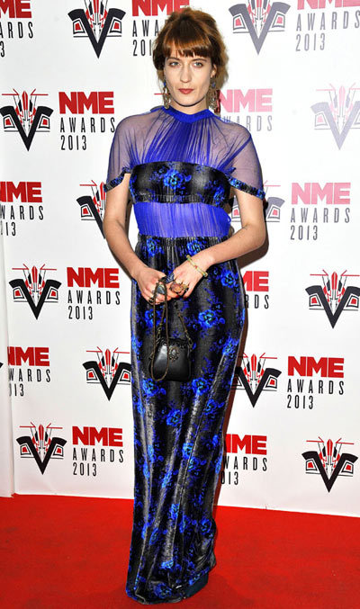 Florence Welch NME Awards 2013