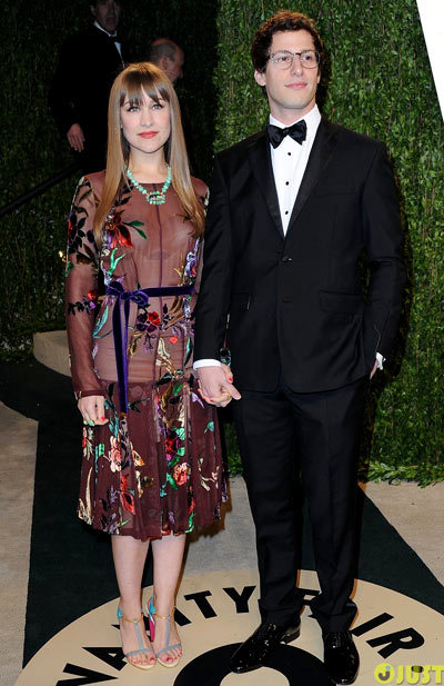 Joanna Newsom 31-year-old musician were seen attending the 2013 Vanity Fair Oscar Party held at Sunset Tower on Sunday (February 24) in West Hollywood, Calif.
