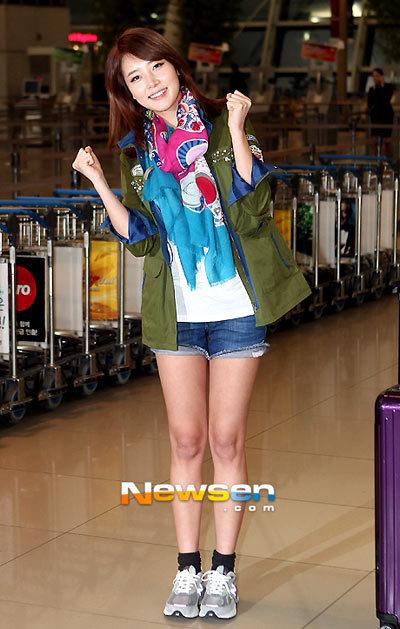 Lee Soo Jung model Incheon