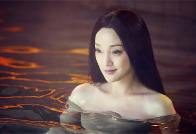 Một tạo hình trong phim về ma, với diễn xuất của nữ diễn viên Châu Tấn.