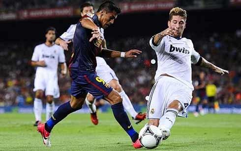 Ramos thi đấu rất chắc chắn trong phòng ngự. Ảnh: AP.
