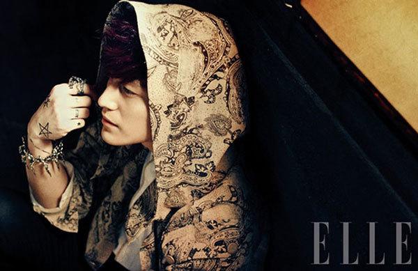 Kim Bum, Kim Kang Woo đọ nam tính
