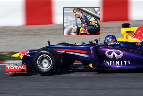 Sebastian Vettel và siêu xe