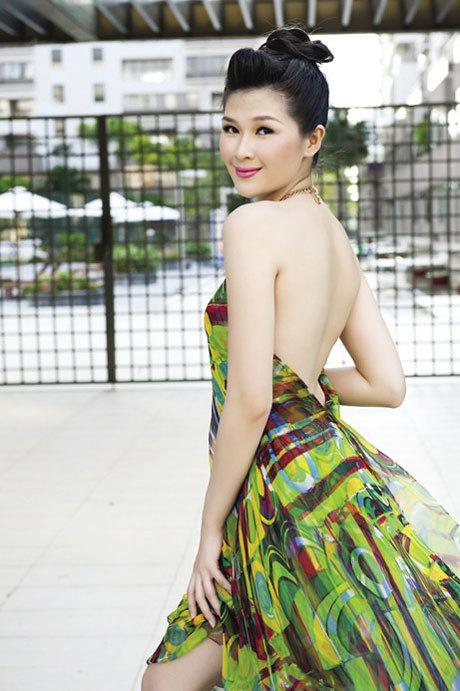Người mẫu, diễn viên Mạc Anh Thư.