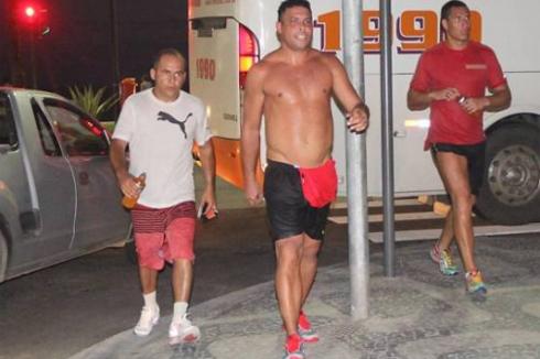 Vì người yêu mới, Ronaldo đang rất tích cực tập luyện để giảm cân.