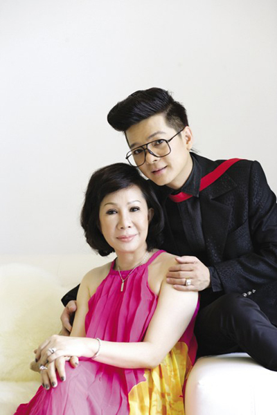 Huyền Vân, người vợ lặng lẽ suốt 20 năm của Vũ Hà.