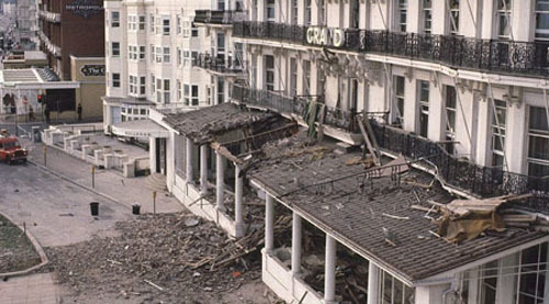 She survived violence closer to home. In 1984 the IRA blew up the Brighton hotel where she was staying during the Conservative party conference. The blast sent a chimney crashing down through a column of rooms, killing five people.