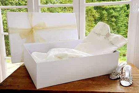 Làm sạch váy cưới bằng nước giặt hoặc hóa chất, tùy thuộc từng kiểu váy.