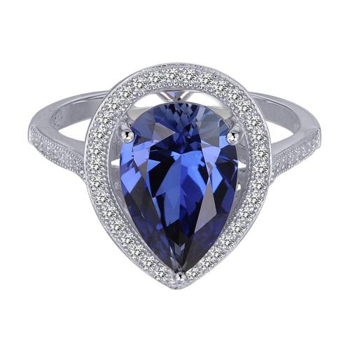 Nhẫn gắn đá sapphire tượng trưng cho sự chung thủy.