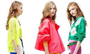 9 kiểu mix váy áo màu sáng tuyệt đẹp