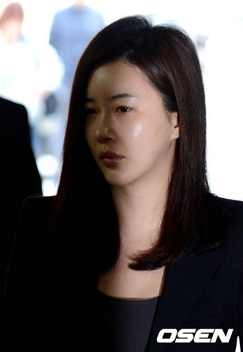 Gương mặt uể oải của diễn viên xứ Hàn.