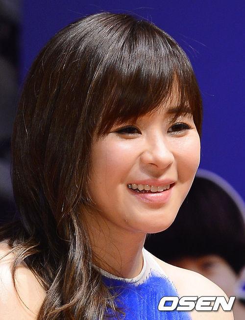 Gương mặt đẹp cá tính của mỹ nhân xứ Hàn.