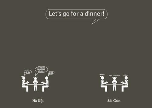 Chúng ta đi ăn tối nào!