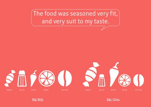 Khẩu vị thức ăn trong từng mùa giữa 2 miền cũng khác nhau.