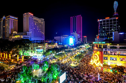 Một trong số những bức ảnh Nguyễn Thế Dương sử dụng trong clip.