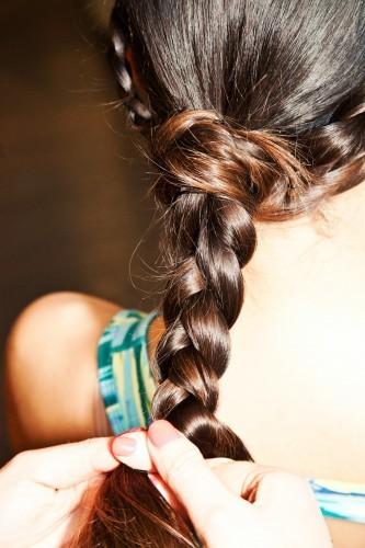 Tết phần đuôi tóc