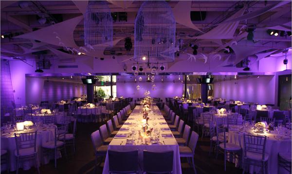 Sử dụng ánh sáng làm đẹp tiệc cưới