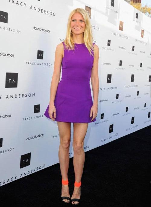 Gwyneth thích một thân hình gầy nhẳng.