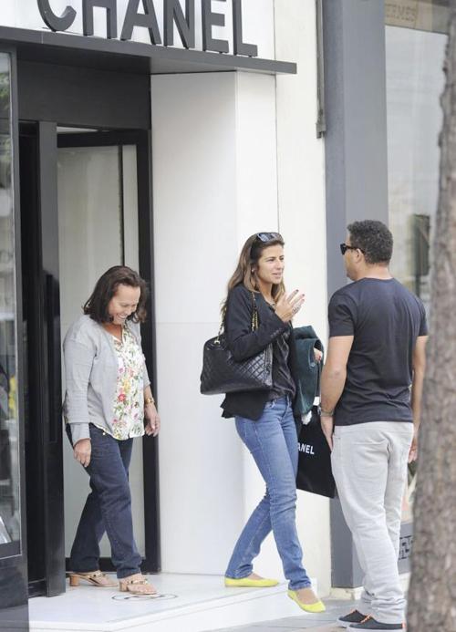 Vài ngày trước, chân sút lừng danh một thời và bạn gái Paula Morais có mặt tại Italy và tới thăm phòng truyền thống của Juventus.
