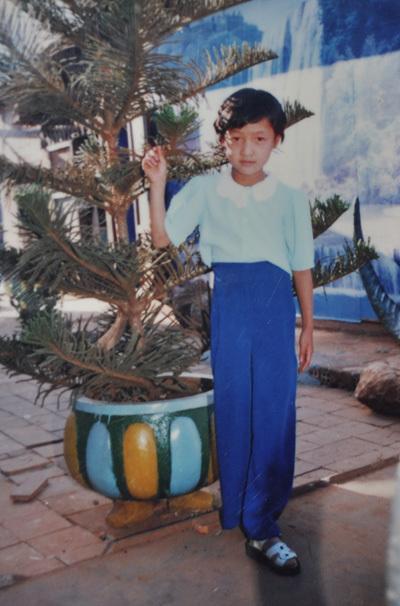 Từ nhỏ, Lê Bê La đã có gương mặt và tính cách giống con trai.