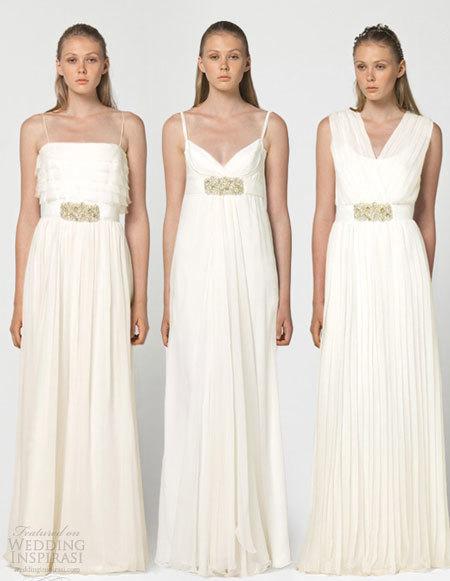 Váy cưới thanh lịch của Max Mara