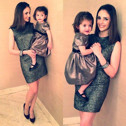Caroline Celico, vợ yêu của Kaka rất được lòng fan bởi vẻ dịu dàng, thân thiện.