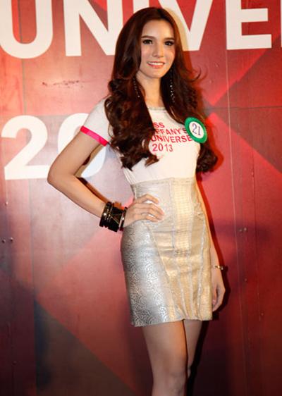 Á hậu thứ 2 của cuộc thi, thí sinh sáng giá nhất cuộc thi năm nay Sopida Rachanon nhận được 70 nghìn Baht Thái tiền mặt.