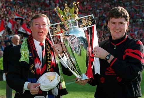 Ferguson Achievement domestic double winners in 1994: (FA, Premier League)
