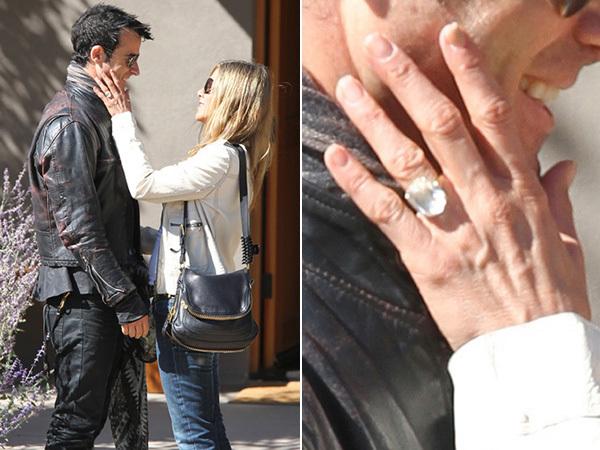 Jennifer đã được bạn trai cầu hôn với chiếc nhẫn kim cương 8 carat màu lục bảo.