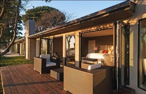 Phòng ngoài trời để uống trà và tắm nắng.